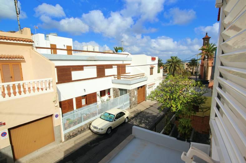 Vistas desde la ventana de la vivienda en venta